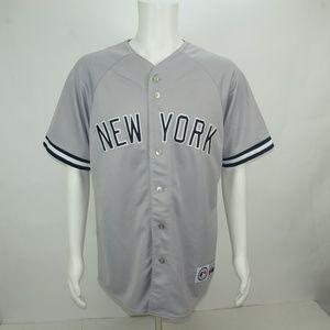 MENS  MAJESTIC MLB NEW YORK JERSEY